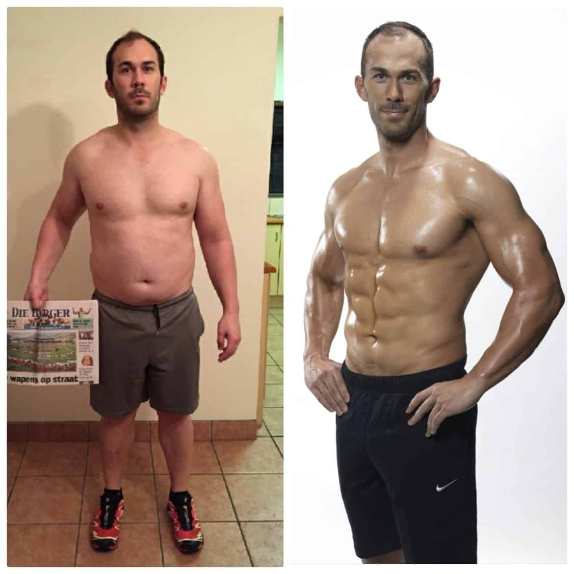 USN 12 Week Challenge winner before and after