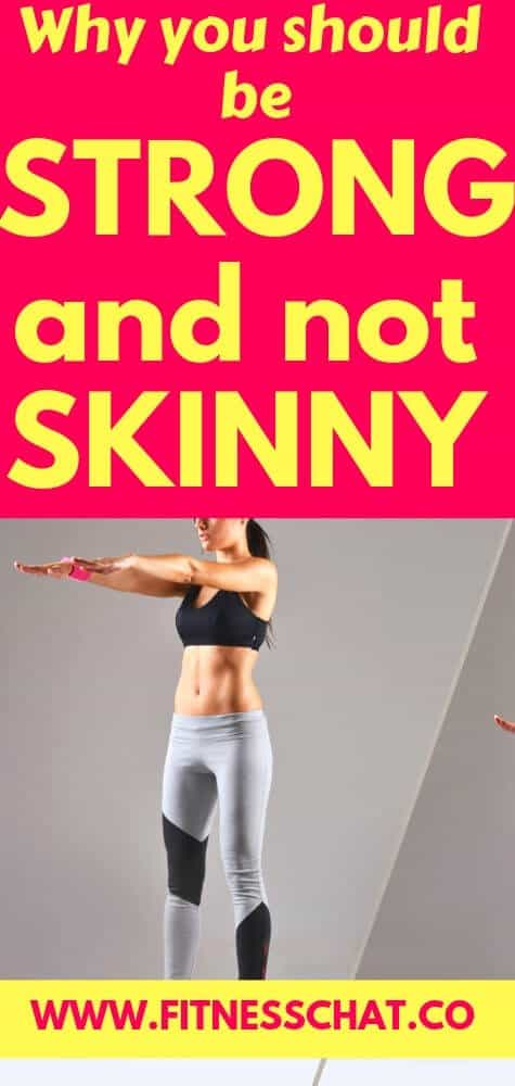 5 reasons to be strong and not skinny. why women should lift weights