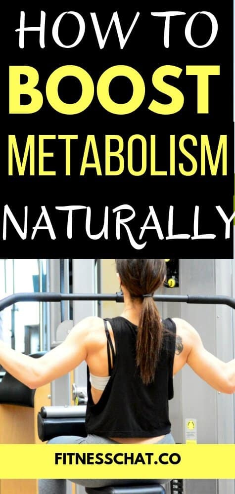 How to boost metabolism naturally