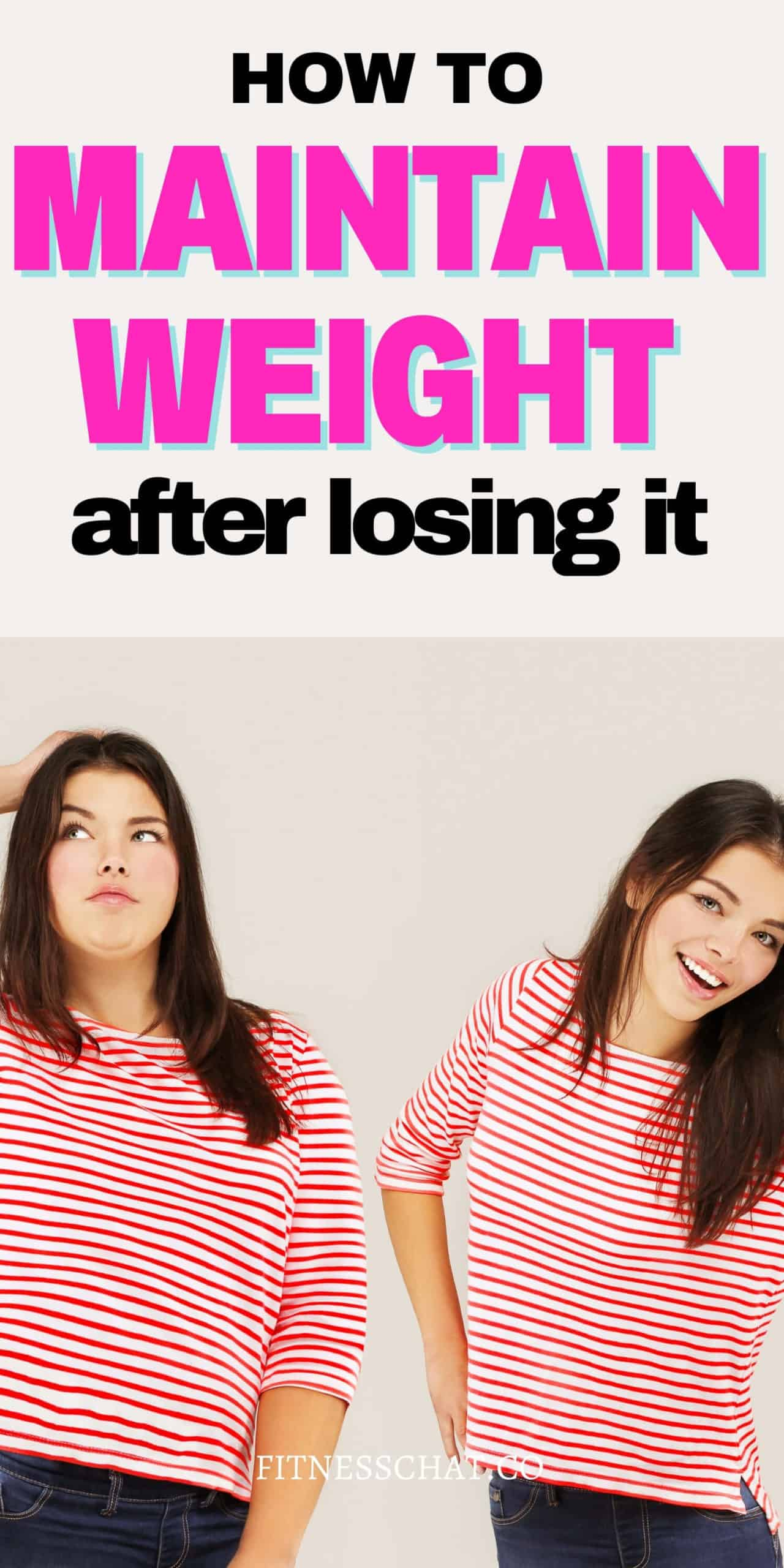 how to lose weight and keep it off forever