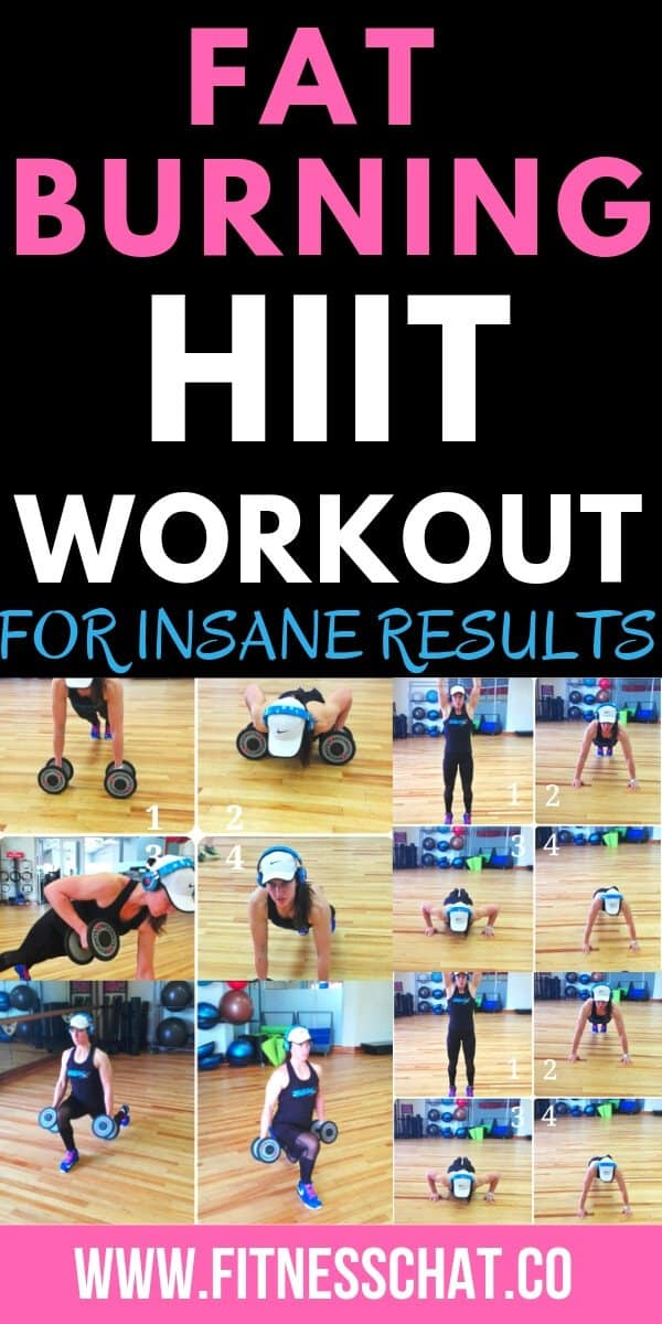 Fat burning HIIT workout for insane results