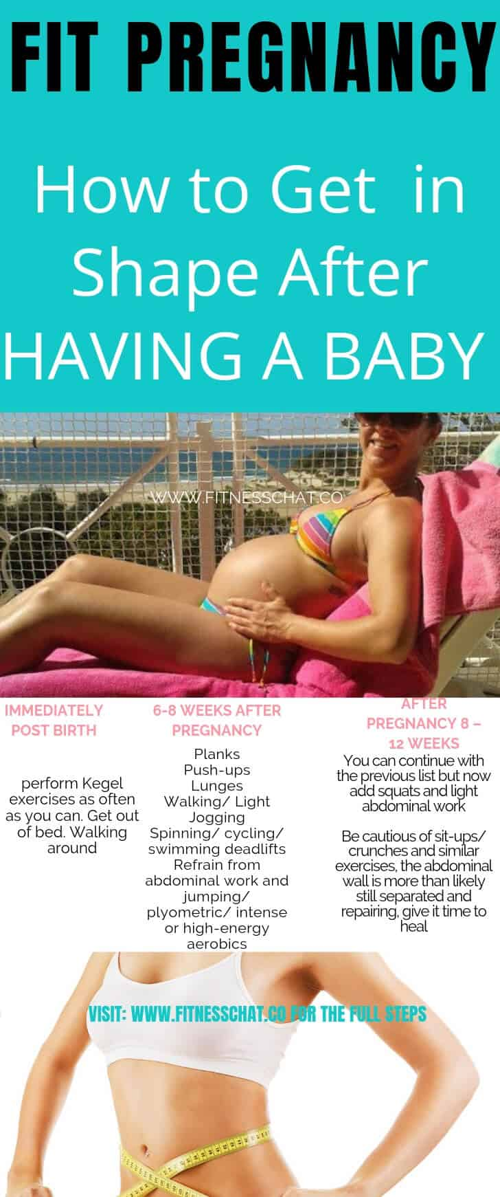 Fit pregnancy. How to Get in Shape After HAVING A BABY.pregnancy workout plan