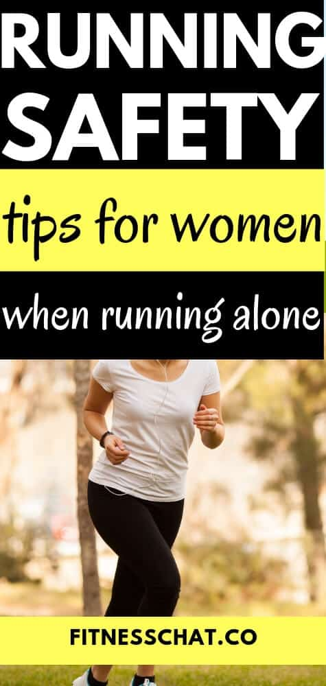 running safety tips for women when running alone