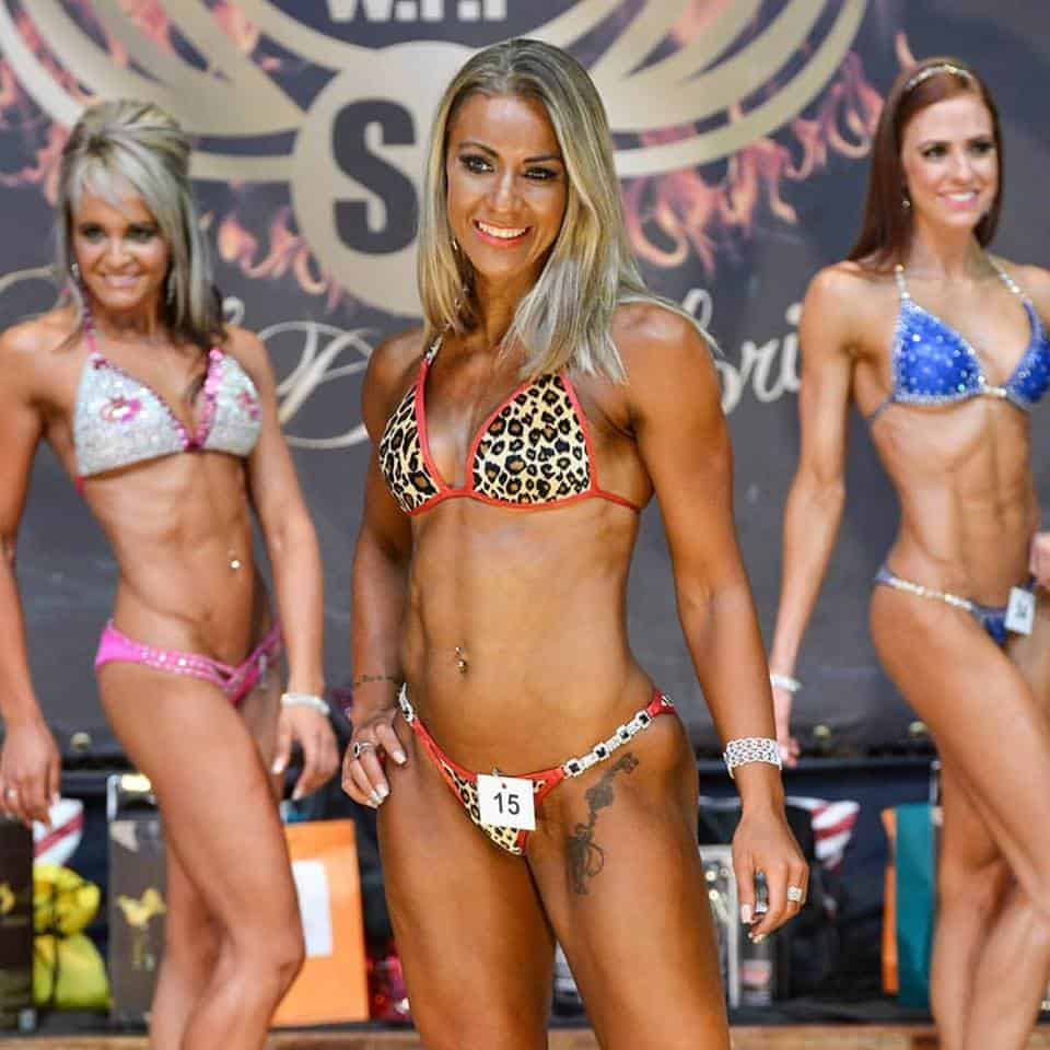 fitness comp Marisca de Beer