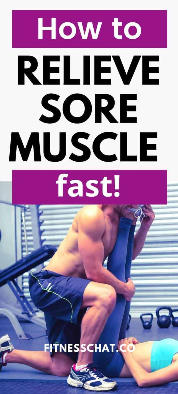 how to relieve sore muscles fast and best recovery for sole muscles