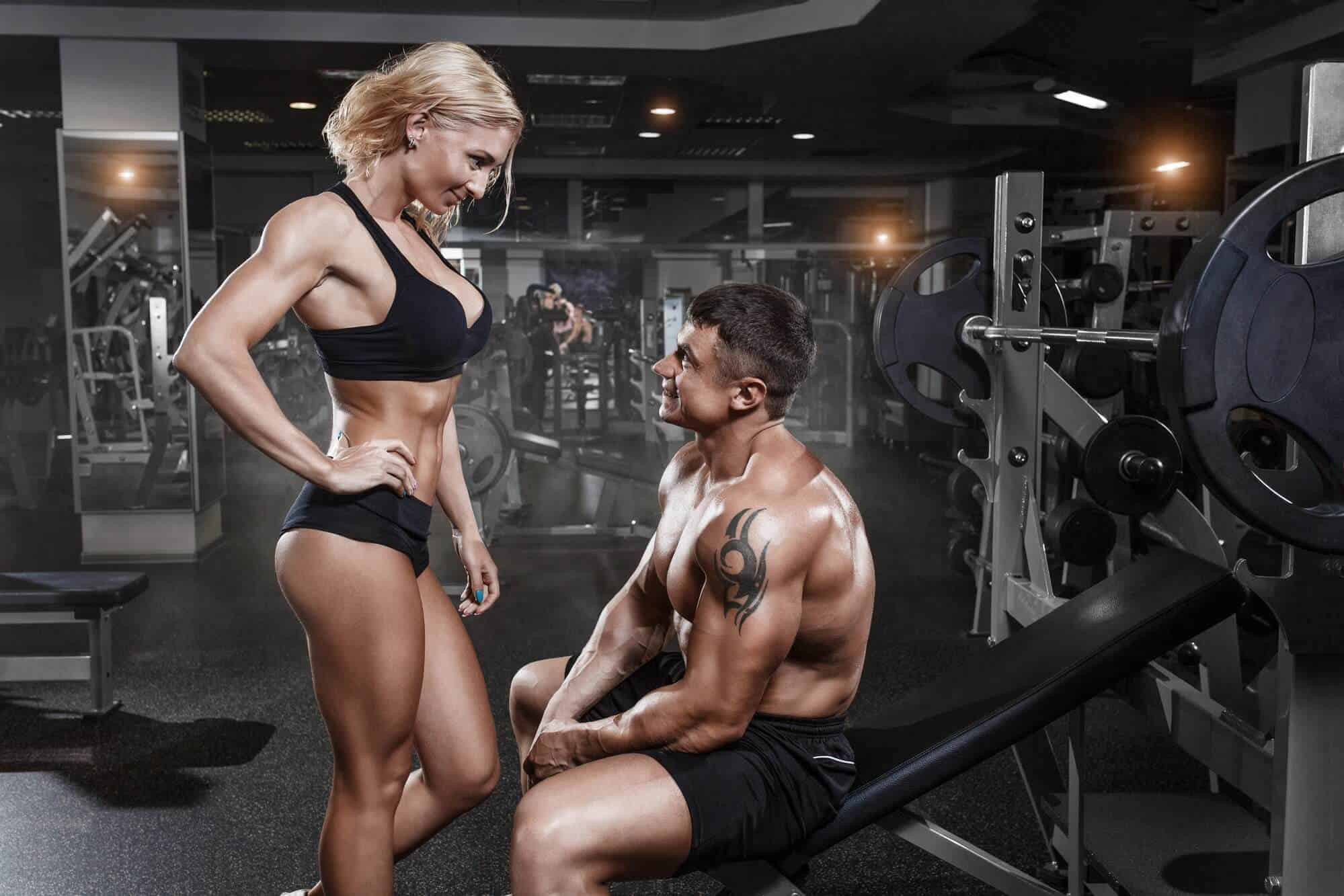 Fitness myth -Lifting weights makes women bulky