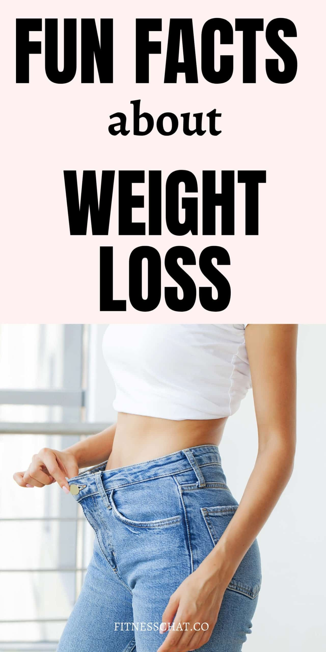 Fun facts about weight loss
