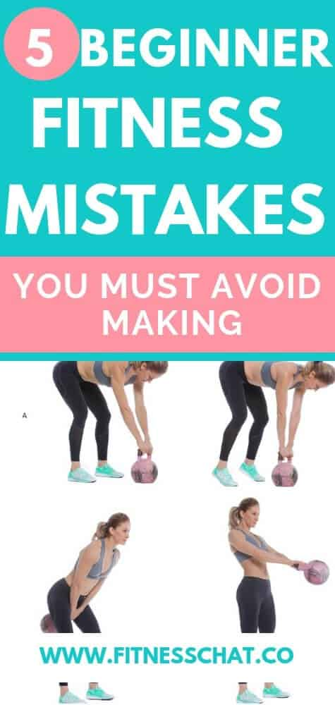 Beginner fitness mistakes you must avoid making when you learn how to get started in the gym