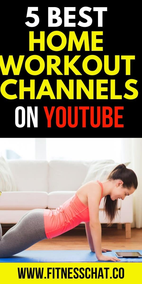 5 of the best home workout programs on YouTube