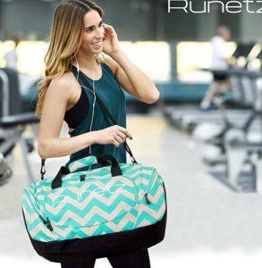 Runetz gym bag for women and men