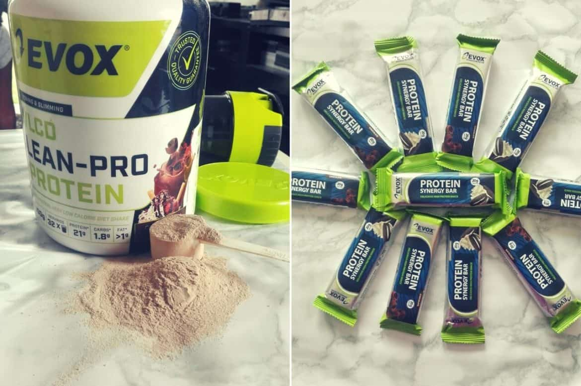 EVOX LEAN-PRO PROTEIN AND SYNERGY PROTEIN BARS