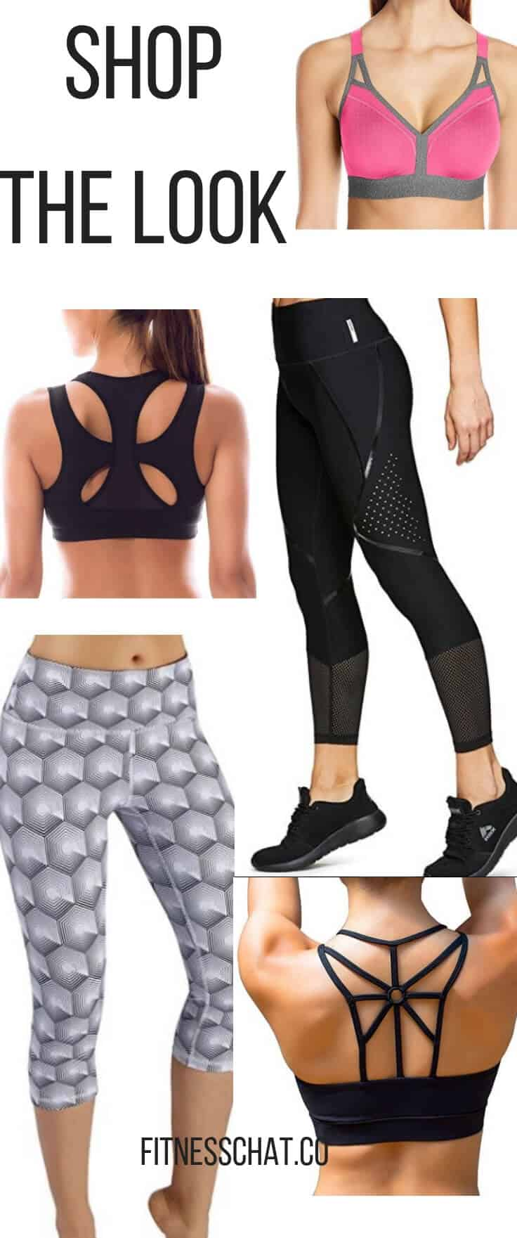 Buy cute workout clothes, workout outfiits and yoga pants from Amazon.