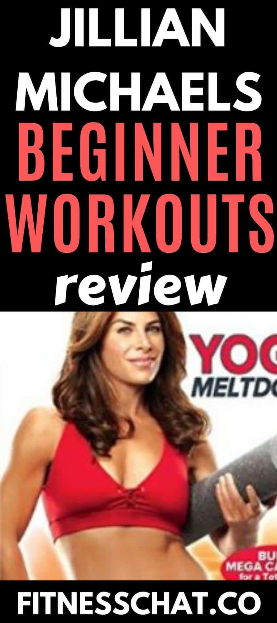 jillian michaels workout plan