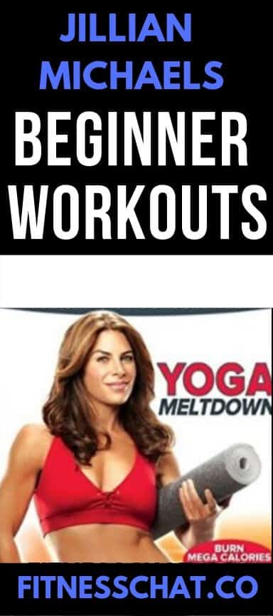 Jillian michaels beginners workouts