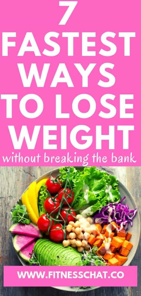 7 fastest ways to lose weight without breaking the bank. weight loss tips