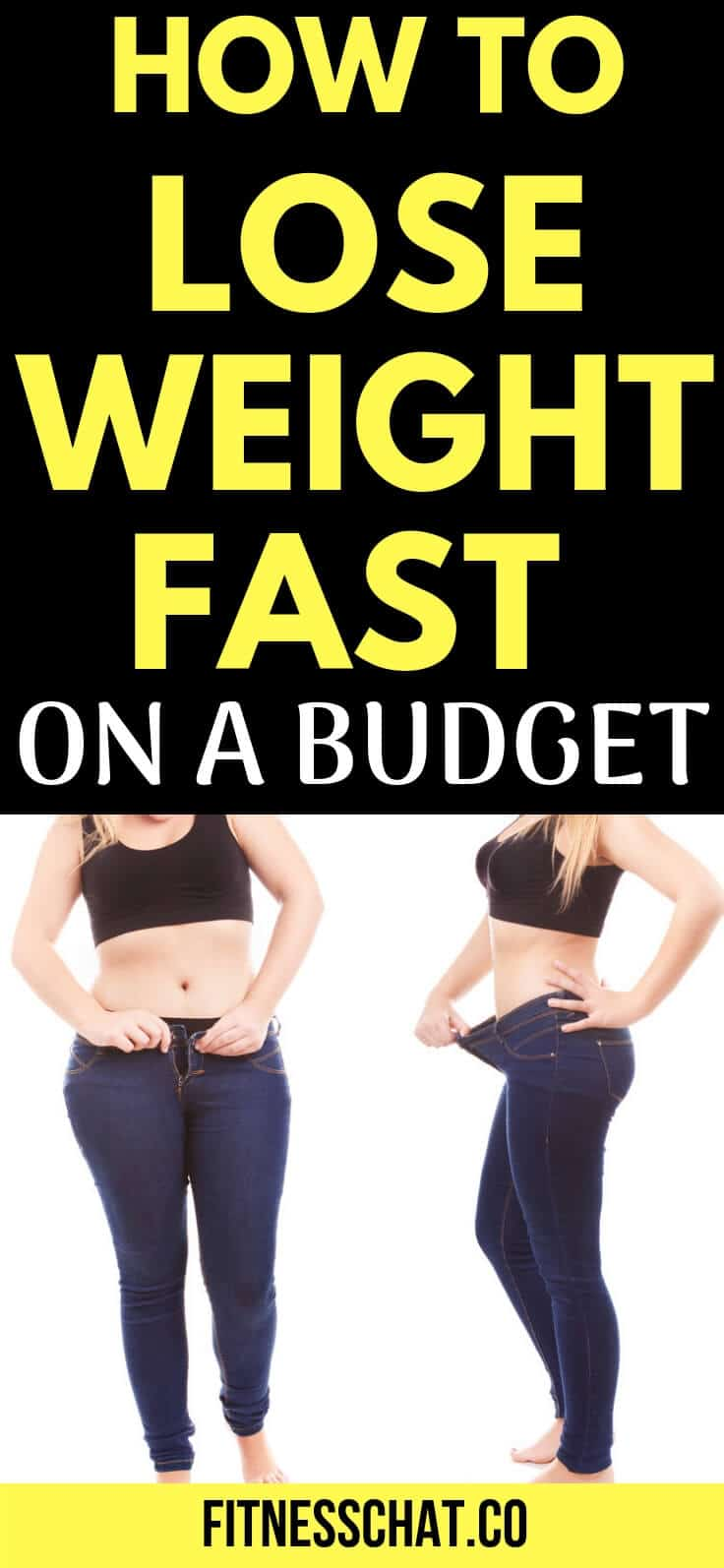 how to lose weight fast in 1 week on a budget