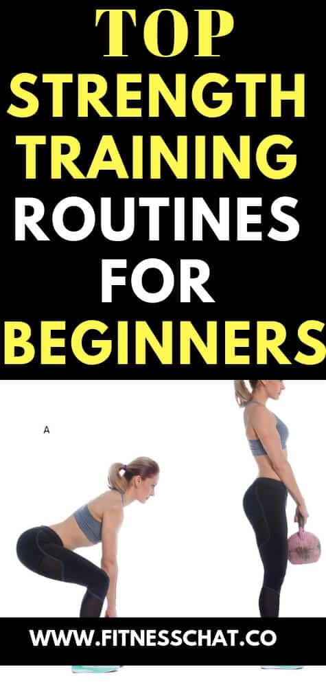 Top strength training workout routines for beginners