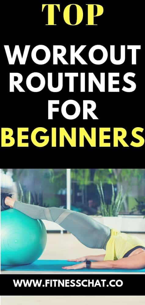 workout routines for beginners that burns fat like crazy
