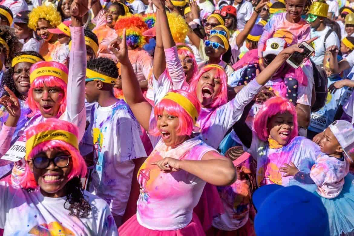 Color Run Pretoria 2018