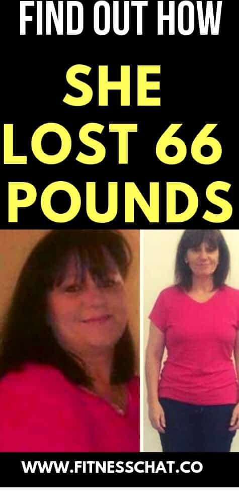 She lost 66 pounds on banting diet
