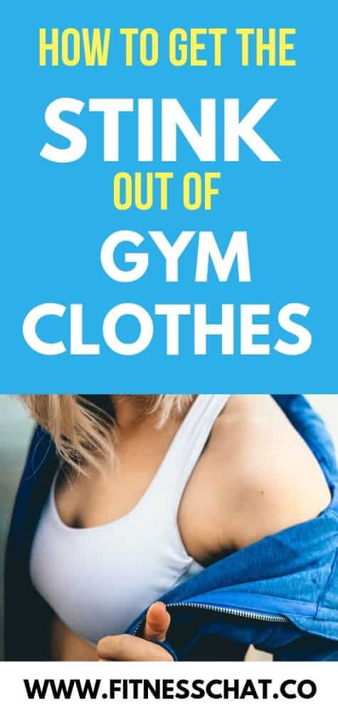 How to remove body odor from clothes. How to get sweat smell out of gym clothes