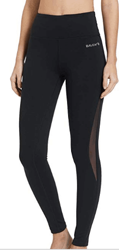 baleaf black leggings outfit for women