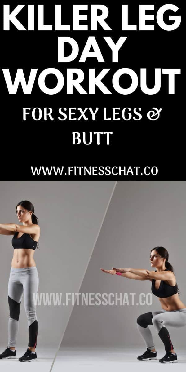 killer butt and leg workout plan for beginners