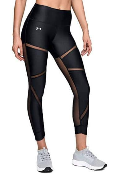 mesh workout leggings from under Armour