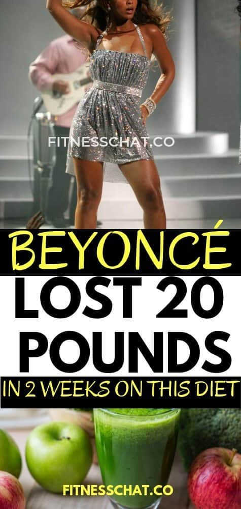 Beyoncé lost 20 pounds in 2 weeks on the master cleanse diet