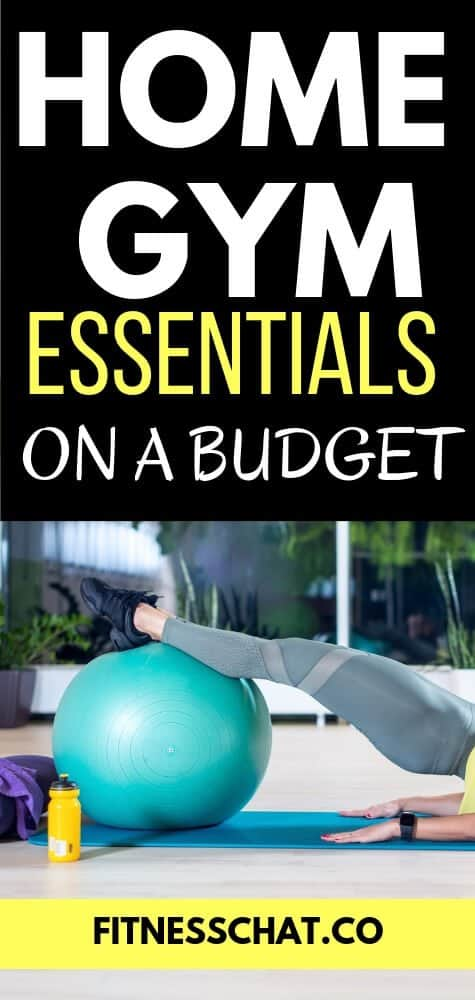 Buy home gym essentials on a budget