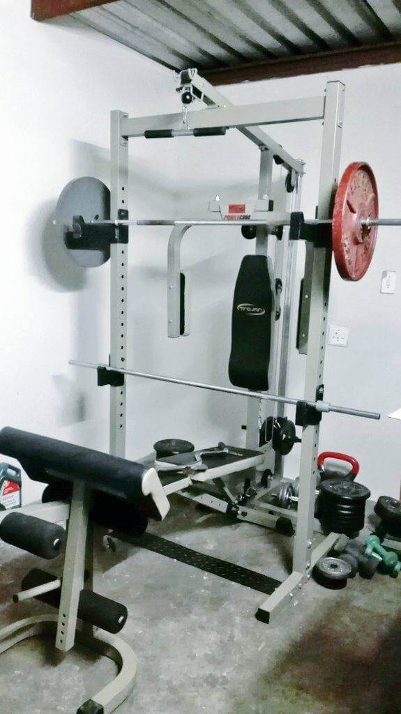 home gym setup ideas