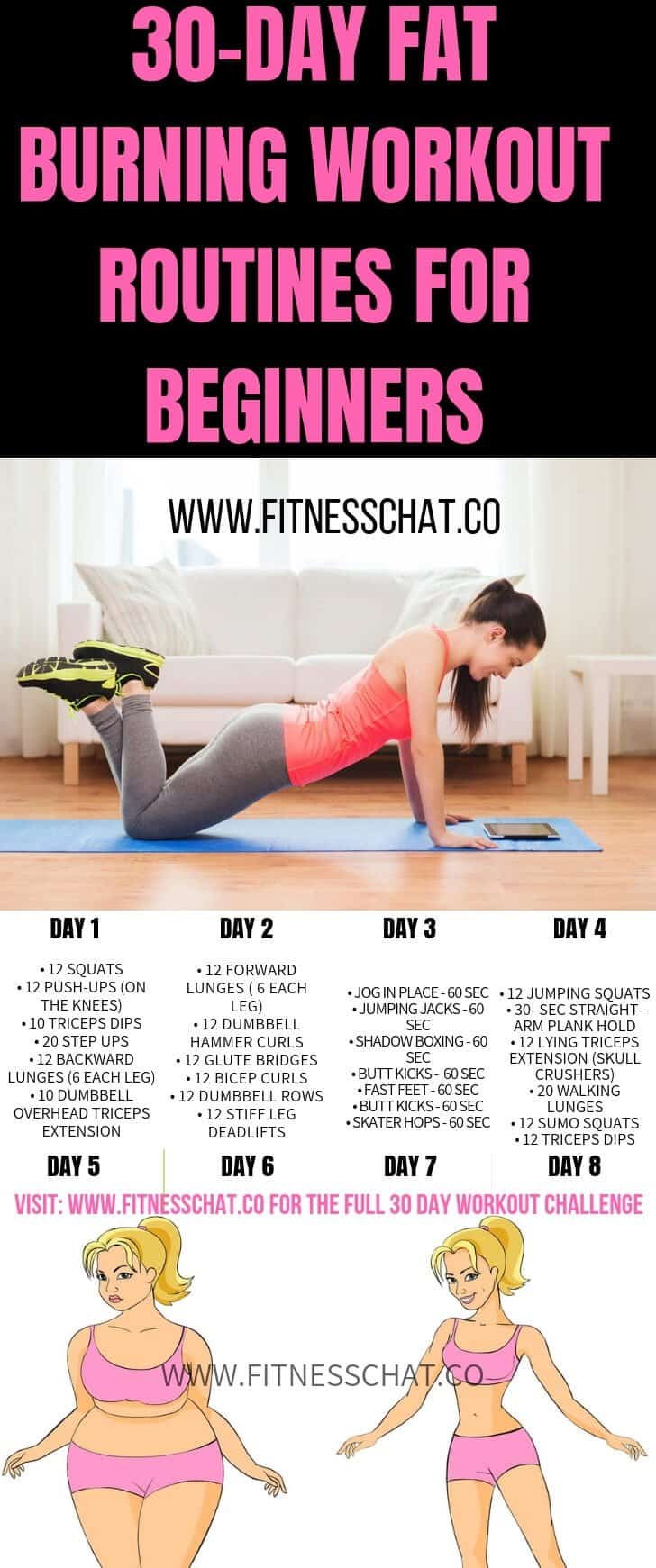 workout plan to lose weight fast