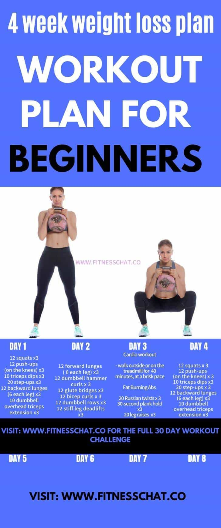 Fat Burning Workout Routines for Beginners. full body workout
