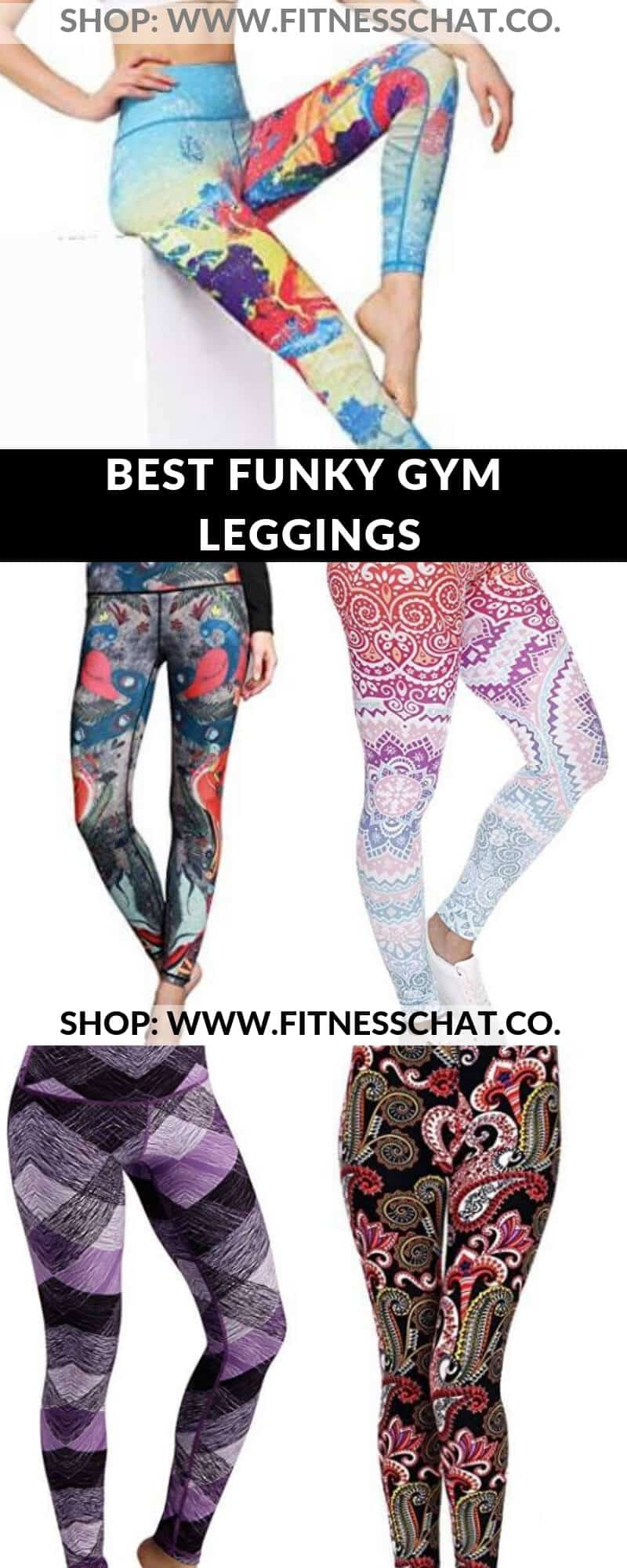 Funky Gym Leggings That'll Make You Want to Hit the Gym