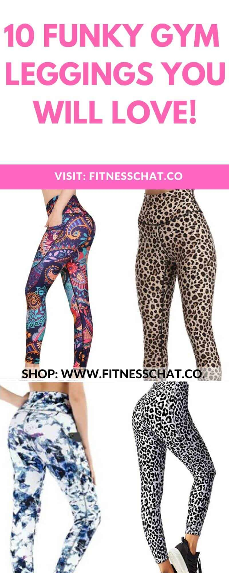 Funky gym Leggings That will Make You Want to Hit the Gym