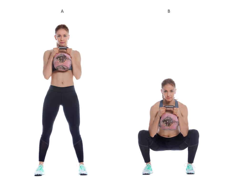 How to do Goblet squats