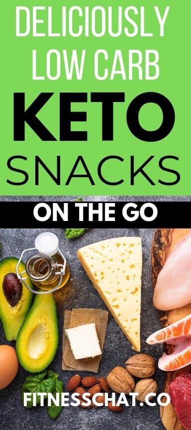 Deliciously Low Carb keto snacks to buy on the go