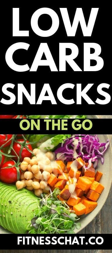 Low Carb snacks on the go for weight loss