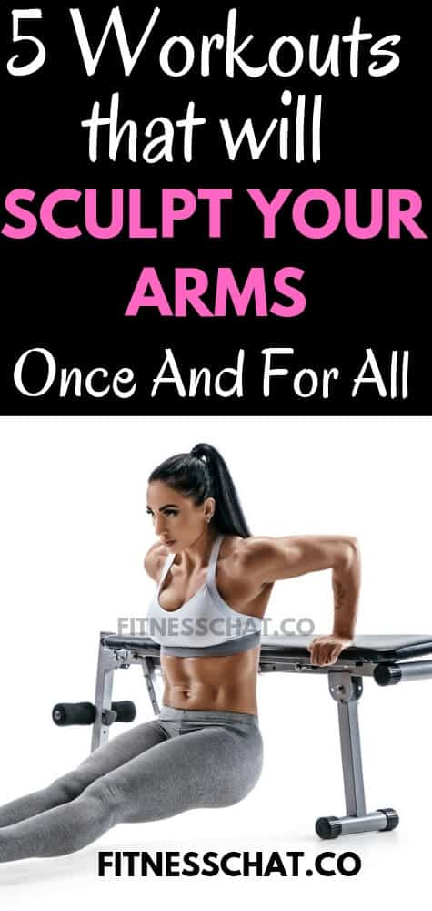 Ultimate upper body workout for women for sexy toned arms. Back workout and shoulder workout plan for women to lose weight