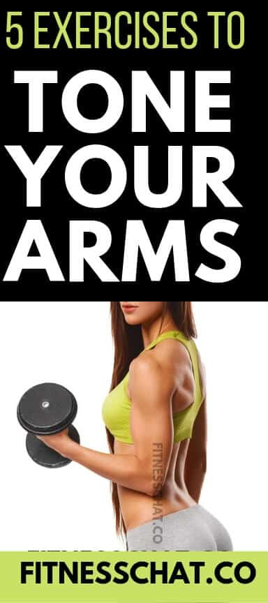 5 exercises that will tone your arms fast. Best arm workout with weights that will sculpt your arms once and for all. Ultimate upper body workout for women