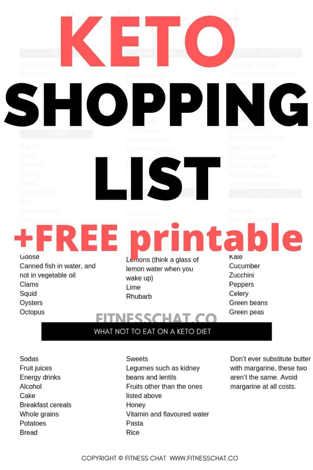 Grab your free downloadable keto shopping list. This is the ultimate keto diet for beginners meal plan, including keto snacks to eat