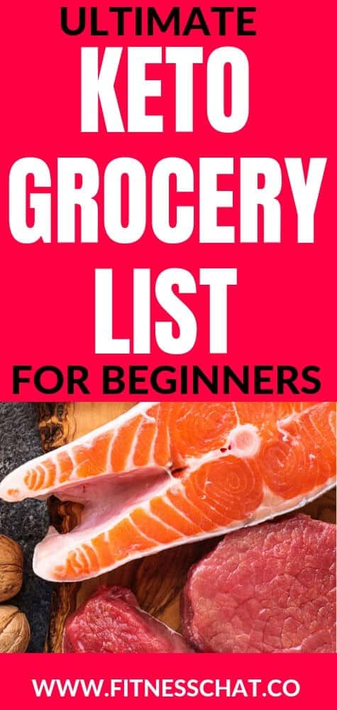Ultimate Keto Grocery List for Beginners