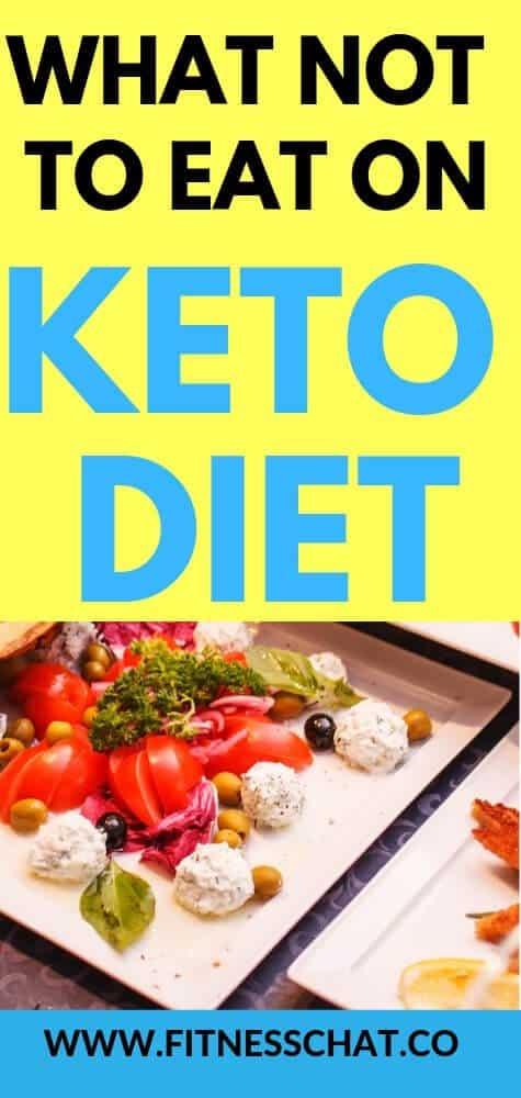 What not to eat on keto diet