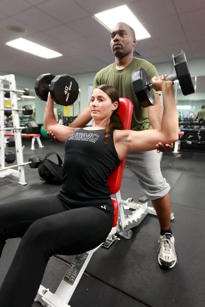How to do overhead shoulder press