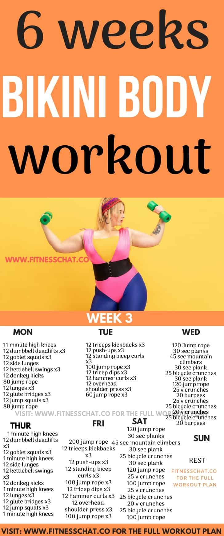 Fat Burning SUMMER BODY WORKOUT PLAN FOR FEMALES (1)