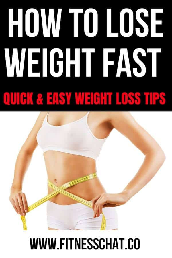 Weight loss tips and diet plans to lose weight fast