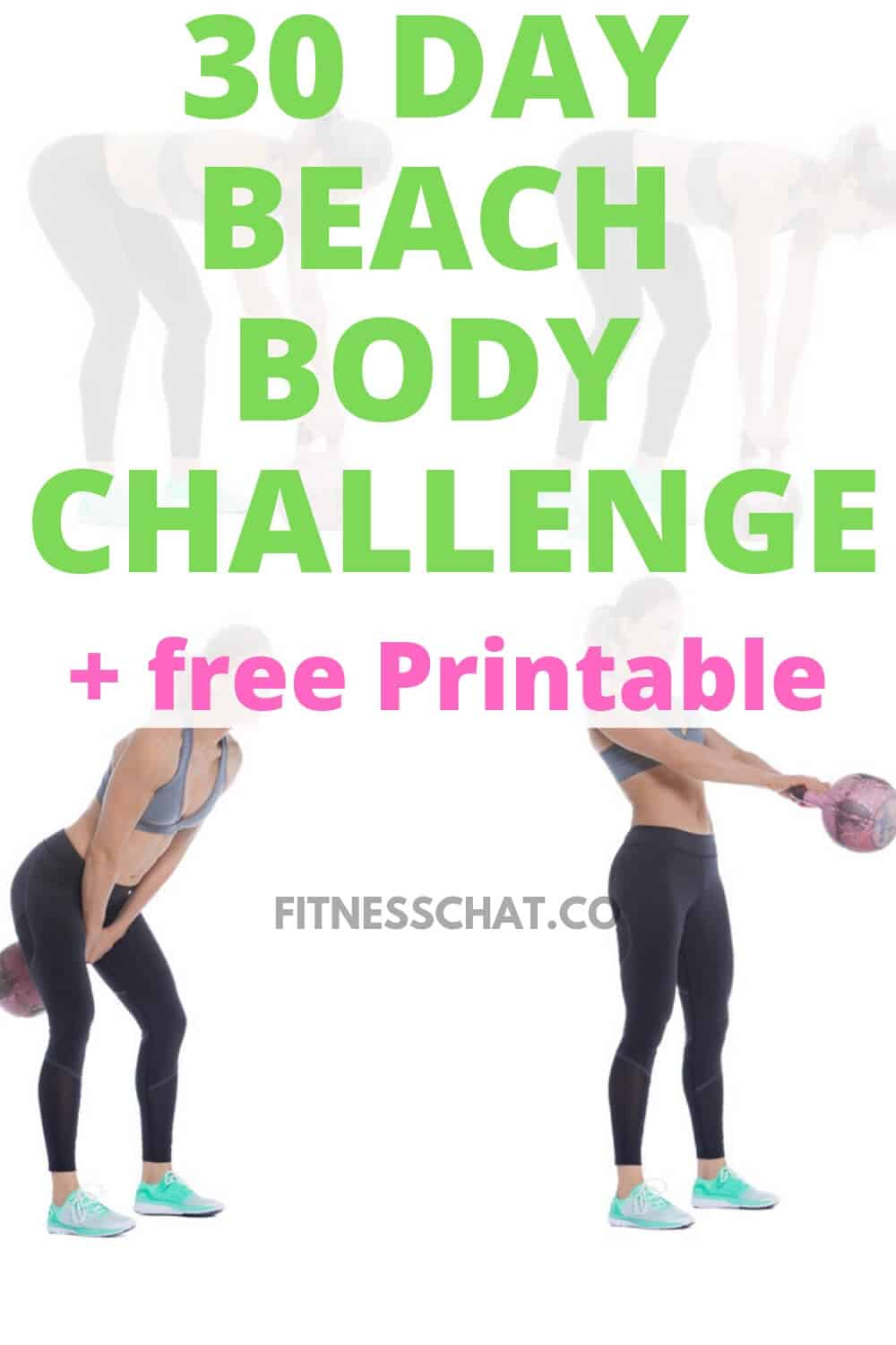 Tone your arms,your butt and tone your abs. 30 day beach body bikini workout challenge