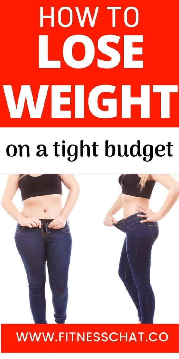 how to lose weight on a budget