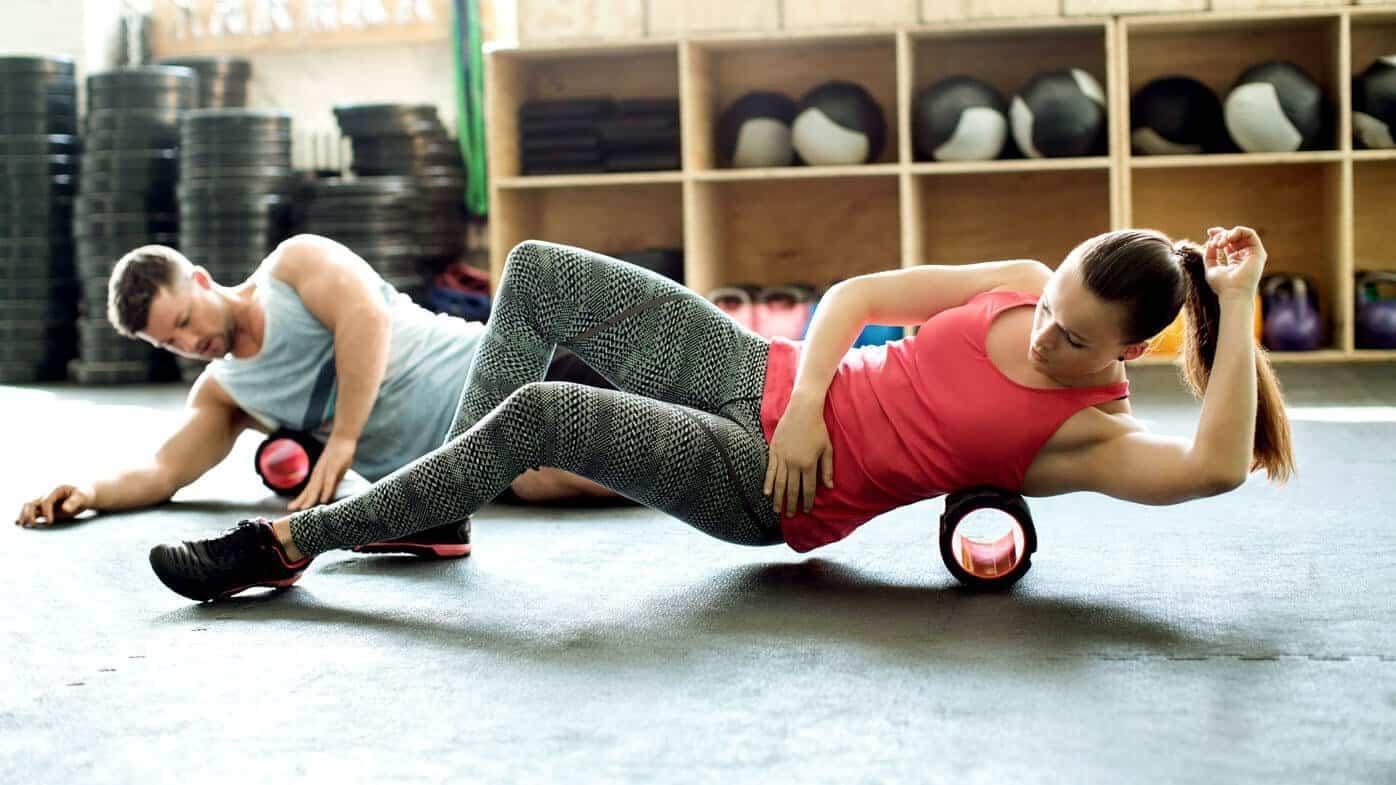 foam roller exercises for back