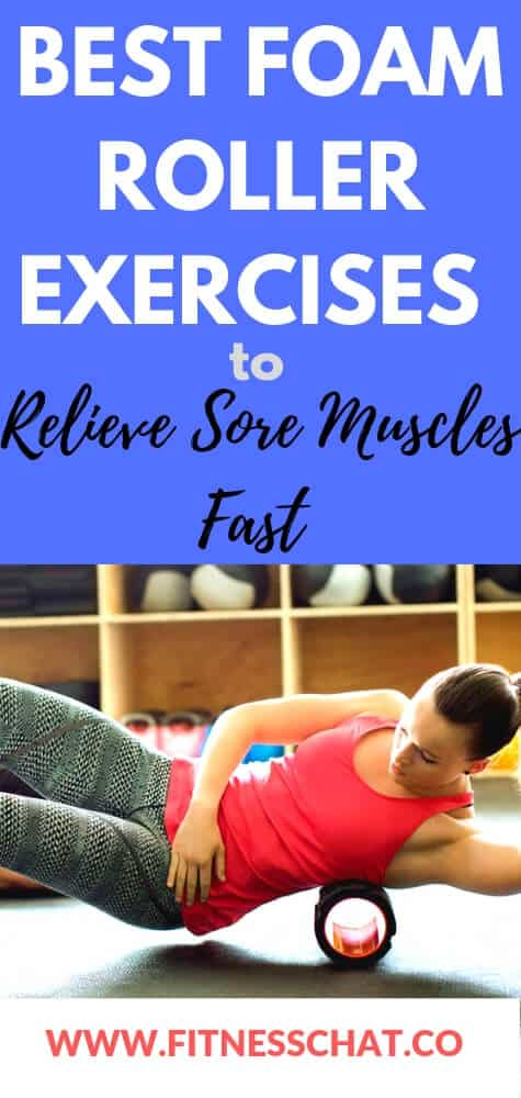 how to relieve sore muscles fast. foam roller exercises.foam roller exercises for runners